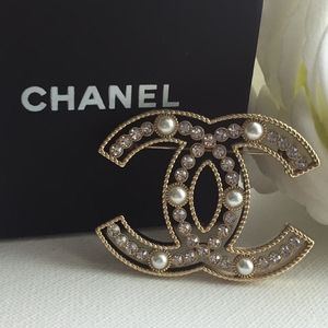 Authentic Chanel Pin Brooch